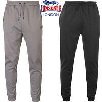 Mens Lonsdale Jogging Joggers Tracksuit Bottoms Casual Jog Poly Pants Size S-2XL