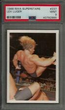 1988 NWA Superstars Wonderama #337 Lex Luger PSA 9 MINT Wrestling Card POP 2