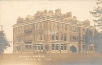 C4/ Ypsilanti Michigan Mi Photo RPPC Postcard 1907 Science Bldg Normal College