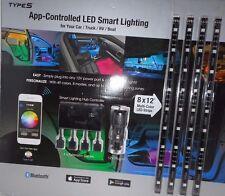 "WINPLUS Type S App-Control LED Smart Lighting 8 X 12"" for Car/Truck/RV/Boat"