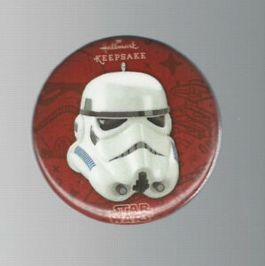 2016 SDCC Exclusive Hallmark Keepsake Star Wars Stormtrooper Promo Button / Pin