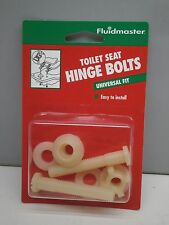 Fluidmaster Universal Fit Plastic Toilet Seat Hinge Bolts - Pair