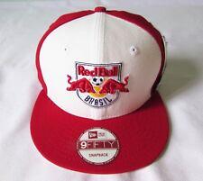 NEW ERA CAP HAT 9FIFTY SNAPBACK RED BULL BRAZIL SOCCER FOOTBALL TEAM RED WHITE