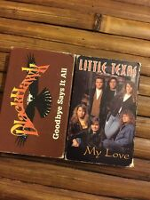 Black Hawk Goodbye Says It All & Little Texas My Love Singles Audio Cassettes