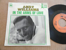 "DISQUE 45T DE ANDY WILLIAMS  "" THE MANY FACES OF LOVE """