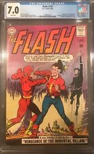 The Flash #137 CGC 7.0 1st Silver Age app. of Vandal Savage!KEY ISSUE!L@@K!