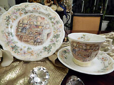 "edles Kaffeegedeck Teegedeck ""THE STORE STUMP""  Brambly Hedge  Jill Barklem"
