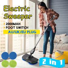 Rechargeable Electric Mop Floor-Cleaner Scrubber Polisher Wooden Floor Broom #