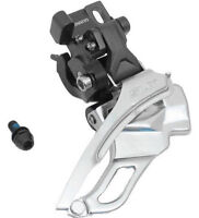 New Shimano SLX FD-M661 Front Derailleur Direct Mount Triple Top or Bottom Pull
