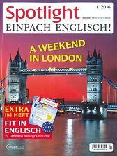 Spotlight Einfach Englisch, Jahrgang 2016: alle 12 Hefte ++ wie neu ++