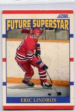 1990-91 Score #440 Eric Lindros Philadelphia Flyers Rookie Hockey Card