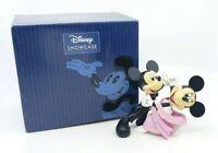 Disney Enesco Showcase Dancing Mickey and Minnie Mouse Figurine Waltz w Box