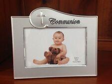 Silver Communion Photo Frame Baby Religious Photo Frame 10cm x 15cm Baby Gift