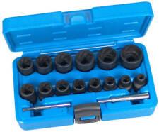 BGS Werkzeug pro Spezial-steckschlüsseleinsätze 16-tlg. Lösen defekter Muttern