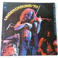VA - Underground '70 - Vinyl LP Purple Coloured Psych Compilation NM