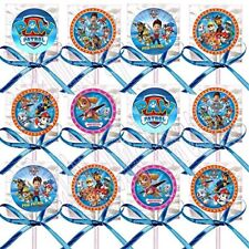 Paw Patrol Dogs Doggie Party Favors Decoration Lollipops Candy 12PC Treats Skype