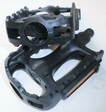 PAIR BLACK MOUNTAIN BICYCLE PEDALS BIKE PARTS 400
