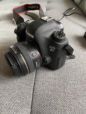 Canon EOS 6 D mit 50 mm Objektiv und Rode Mic