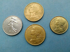 French coins 1963/68/77/78