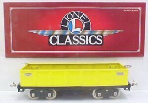 Lionel 6-13300 Standard Gauge 512 Yellow Gondola LN/Box