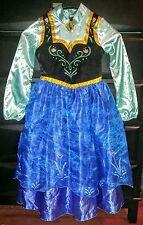 Disney Store Frozen Anna Halloween Costume Dress Child Size 7 8