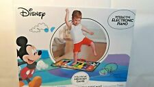 Disney Mickey Mouse Music Dancing Mat Interactive Electronic Keyboard Toy Piano