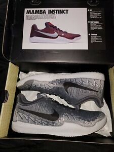Mamba Rage Size 12 Athracite/white/black/grey look fresh out of the box