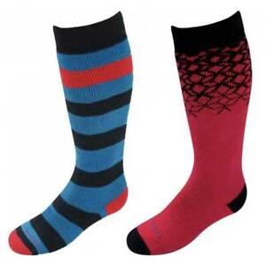 Lorpen Merino Ski Winter sports Kids Socks, 2 pairs Size UK13.5-3 NEW RRP £16.95
