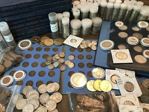 *SALE* NICE U.S. COIN COLLECTION BULLION LOT Vintage Gold 90% Silver 75+ Coins!
