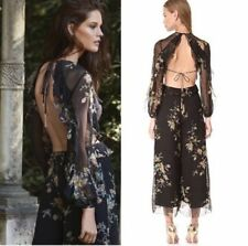 30daa1b317b3 ZIMMERMANN 100% Silk Jumpsuits