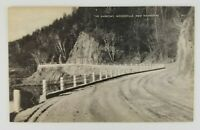 Postcard The Narrows Dirt road Woodsville New Hampshire