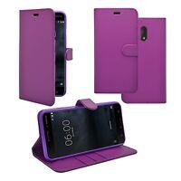 para Nokia 3 Libro De Cartera Abatible en varios colores FUNDA