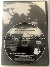 2005-2013 Chevy Corvette Cadillac STS Saab 9-5 Navigation DVD Version 7.00 East