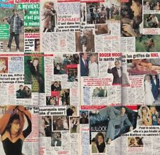Ici Paris Paula Abdul,Sandra Bullock,Sylvia Kristel,Mylene Farmer ,Roger Moore