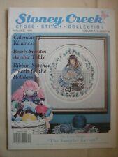 Stoney Creek Magazine Vol 7 Number 6 Nov-Dec 1995 Counted Cross Stitch Patterns