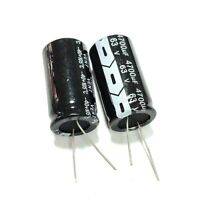 2PCS 63V 4700uF 63Volt 4700MFD Electrolytic Capacitor 22×40mm Radial