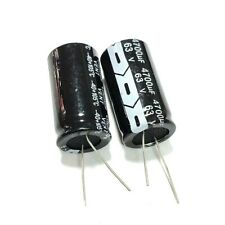 2pcs 63v 4700uf 63volt 4700mfd Aluminum Electrolytic Capacitor 2240mm Radial