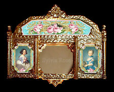 BEAUTIFUL PICTURE MIRROR FOR DOLLS HOUSE-by SYLVIA ROSE. No. 16