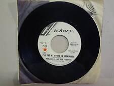 """NEAL FORD & THE FANATICS:I'll Put My Boots On Backwards- Buttercup-U.S. 7"""" 68 DJ"""