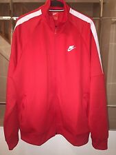 NIKE TRIBUTE MENS TRACK JACKET TOP RED XL 678626 RRP £55 *BNWT*