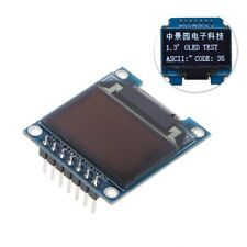 "1.3"" IIC 7Pin 128X64 OLED LCD Display Module White LED SPI SSH1106 For Arduino"