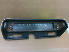 1971 Dodge Charger speedometer and bezel w/headlight & wiper knobs  OEM