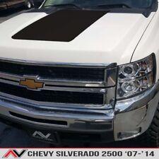 Chevy Silverado 2500 07-14 Hood Blackout decal truck large sticker Matte Black