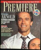 PREMIERE Magazine January 1989 ARNOLD SCHWARZENEGGER / Danny Devito