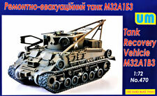 Unimodel UM 1/72 Model Kit 470 M32A1B3 Recovery vehicle tank