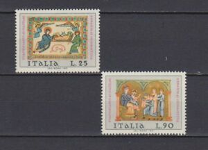 s16977) ITALIA MNH** 1971 Christmas 2v