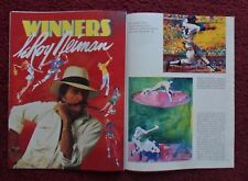 1983 Magazine Article 'Winners'  ~ Leroy Neiman Sports Greg Louganis Boxing ART