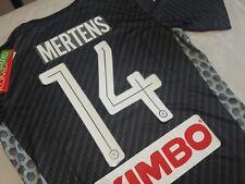 Maglia SSc NAPOLI Kappa Kombat Karbon 2018 Extra Nuova Mertens 14 maillot