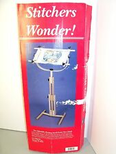 """Stitchers Wonder! Floor Stand Cross Stitch Craft FA Edmunds 16"""" to 45"""" NOS 6115"""