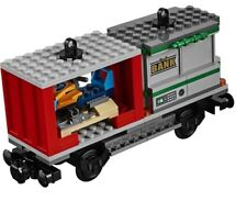 LEGO Cargo Train City 60198 Container Ski Wagon Bank Vault carriage only